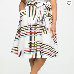 ELOQUII SOLD OUT GEO SKIRT 14 - WITH POCKETS